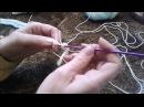 Вязание крючком. Начальный ряд арочками - это удобно Knitting for Beginners