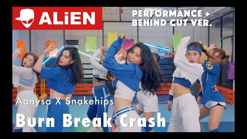 Burn Break Crash - Aanysa X Snakehips | Performance Behind Cut | Choreography by Euanflow