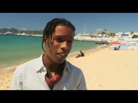 A$AP ROCKYS EMBARRASSING MOMENT IN CANNES.