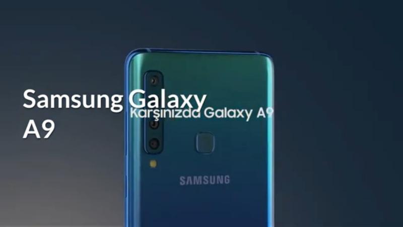 Dünyanın ilk dört arka kameralı telefonu Samsung Galaxy A9 özellikleri