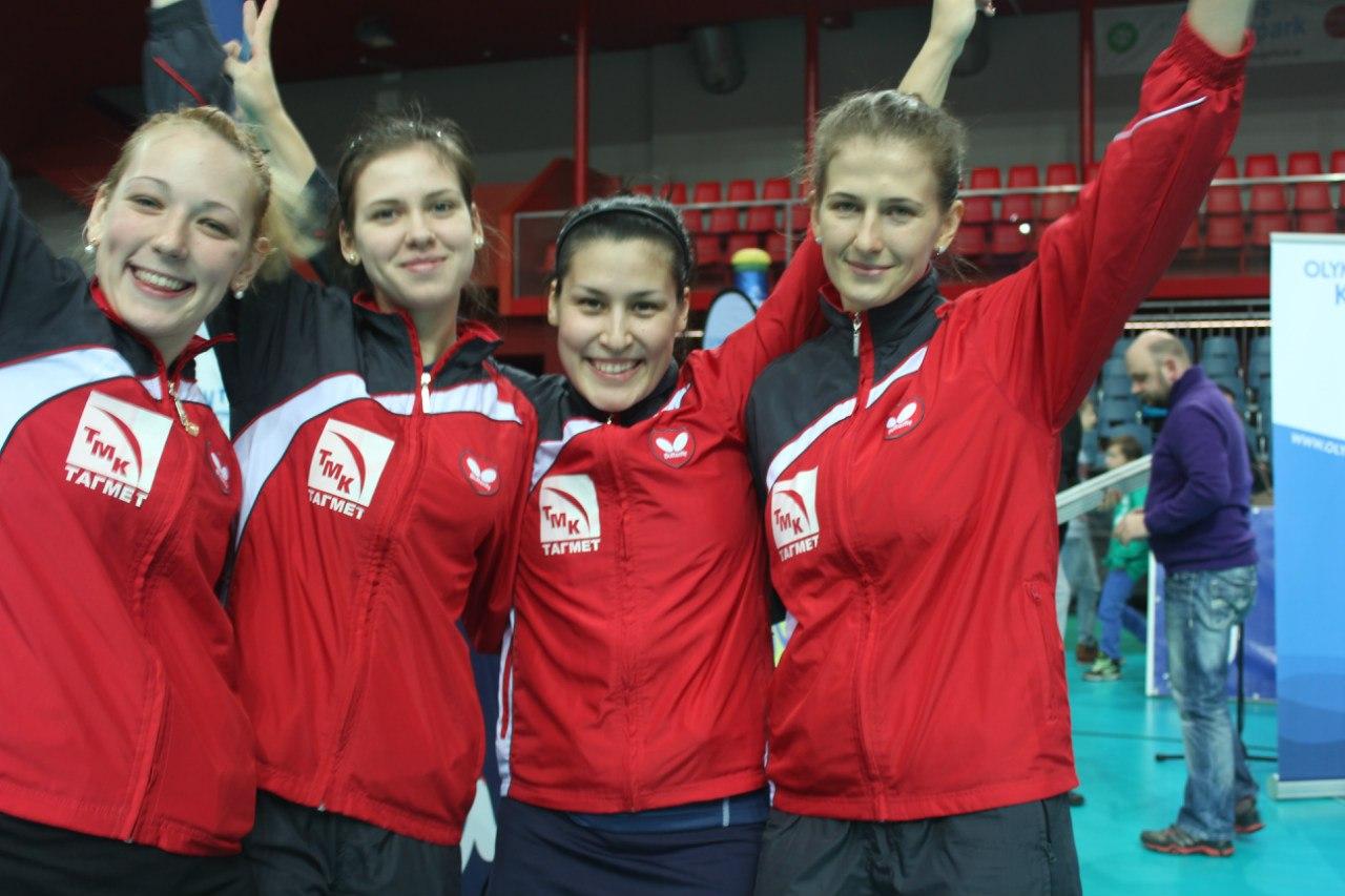 «ТМК-Тагмет» вышел в полуфинал женского Кубка Европы