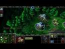 2kxaoc Warcraft 3 FFA за людей против некромантов