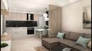 Дизайн кухни-гостиной 17 кв. м более 50 идей