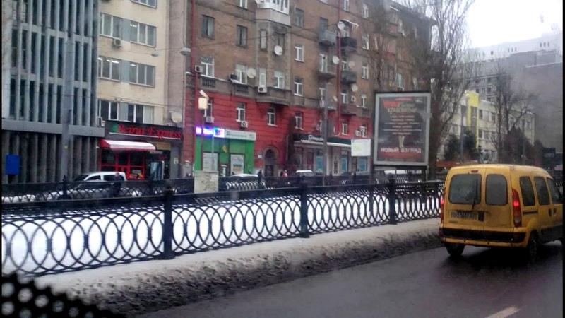 Троллейбус №5 часть 2|Trolleybus №5 part 2 Вул.Білицька - Ст.м.Площа Льва Толстого
