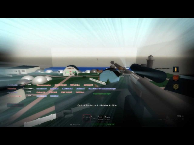 Call of Robloxia 5 - Roblox At War (ROBLOX MONTAGE) (PTRS-41) 1080p HD