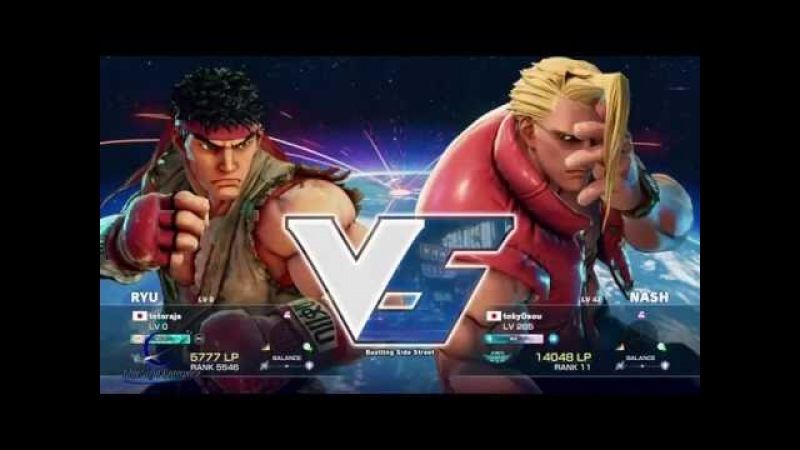 Street Fighter V : Ryu VS Ken - Gameplay