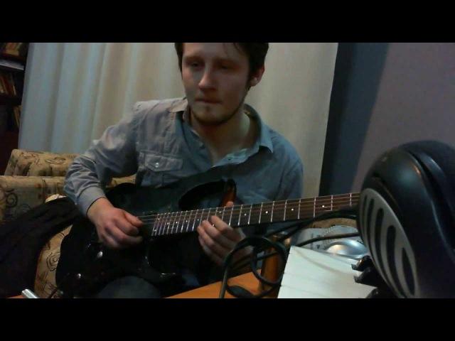 N.Tesla - Studio Update #2 (2013). Guitars Recording (TRIBLADE STUDIO)