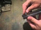 Как расклепать заклепки или люверсы на ноже своими руками