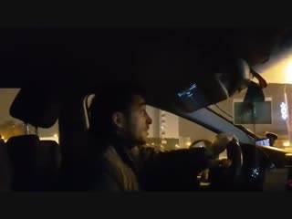 В Минске мужик заставил снять георгиевскую ленту таксиста
