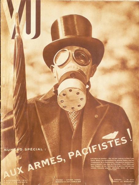 Обложка французского журнала «Vu», ноябрь 1932 года