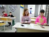 Ментальная арифметика.Выпускная группа - Мария, Александра, Никита и Матвей.