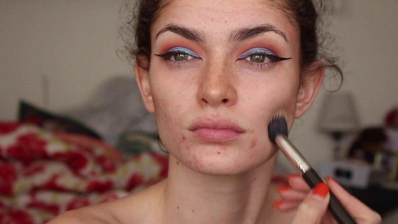 April Showers   A Makeup Tutorial