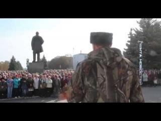 Террорист Лугандона обьяснил, почему он воюет за спинами людей
