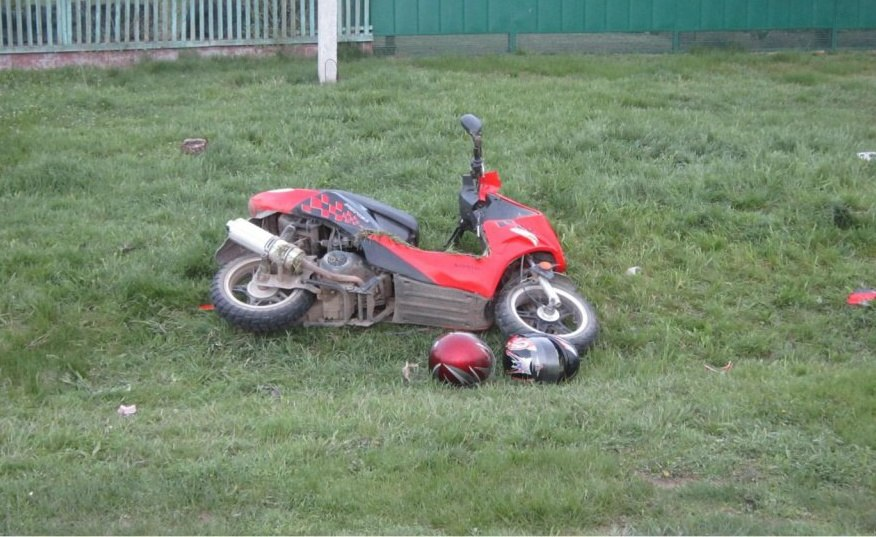 ДТП с участием скутера