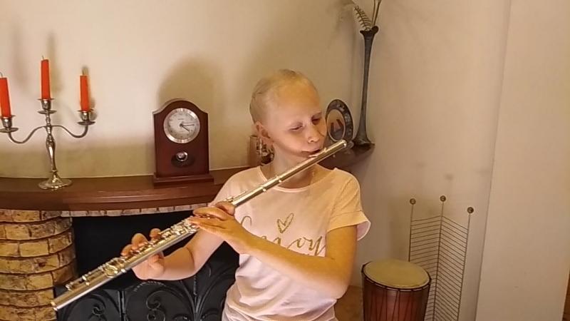 Анна Зубарева (Мурманск) Летняя школа Поющая флейта 2018 г.