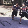 """Tony Sentmanat on Instagram: """"Throw back to some explosive jumping,  burpees and striking then ended with 200 lbs sled pull combination. During my ..."""