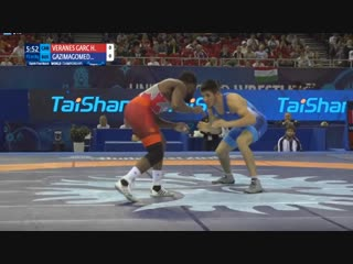 1/8 финала: Магомедрасул Газимагомедов (Россия) - Хайслан Гарсия (Канада)