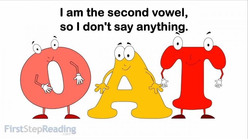 Long Vowel O Vowel Vowel, Beginning Reading Grammar Phonics Lesson