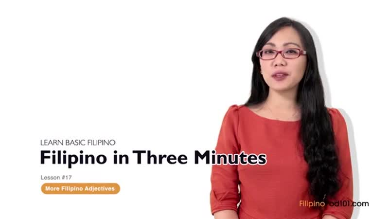Learn Filipino in 15 Minutes - Improve your Filipino Conversation Skills