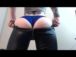 Sweet Ass Worship Leather Leggings
