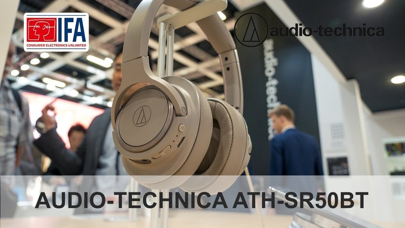 Обзор AUDIO-TECHNICA ATH-SR50BT на IFA 2018 в Берлине