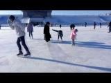 Mikle Jackson на коньках