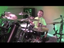 MONEY FOR NOTHING Dire Straits 7 year old Drummer Drum Cover by Avery Drumme