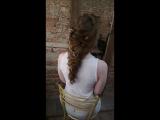 Греческая коса 💜
