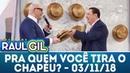 Pra Quem Você Tira o Chapéu com Felipeh Campos Completo Programa Raul Gil 03 11 18