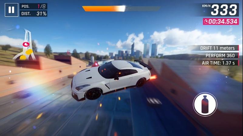 Asphalt 9: Legends / Car Hunt Riot: Nissan GT-R Nismo / 1.38