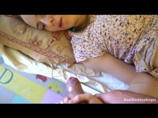Daughter and dad fuck taboo hot sex in nursery room