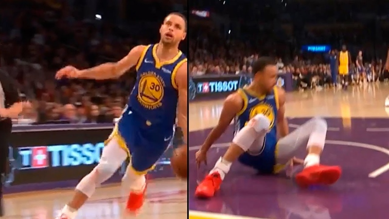 Steph Curry Dunk Attempt Shaqtin Of The Year Nomination | Warriors vs Lakers