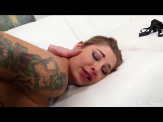 Kleio Valentien - Squirting While Fucking Her Holes - Drilledxxx (HDVideos)