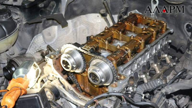 Ремонт ГРМ и ГБЦ Mercedes E200 W212