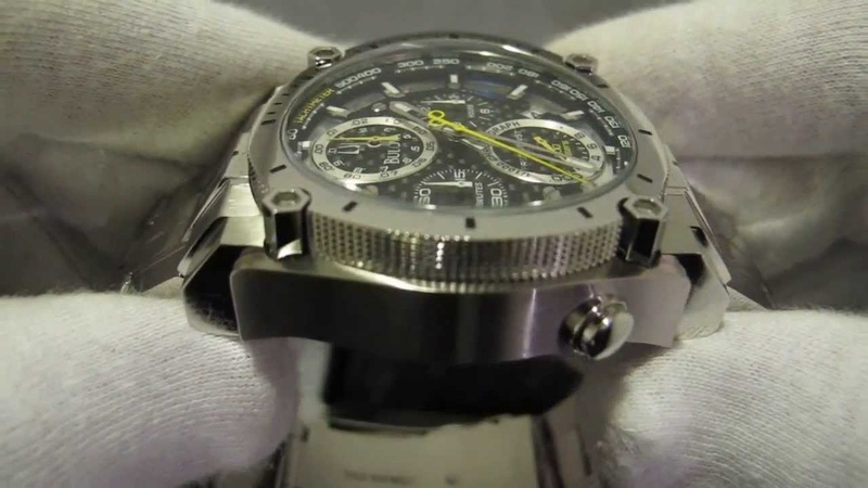 Обзор мужских наручных часов Bulova Precisionist Chronograph 96B175