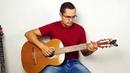 Мелодия на гитаре из детского мультика Умка