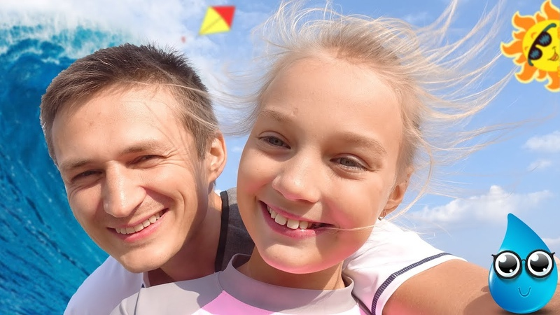 Влог ☀️ АкваПарк WaterWorld: обзор горок / Семейные влоги про путешествия / Unika блогер