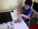 Артём и Механическая лягушка управляемая Максом