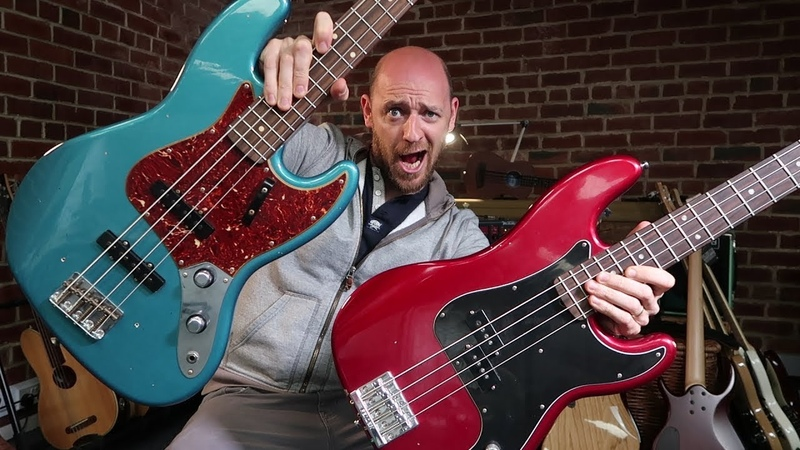 Jazz Bass Vs Precision Bass - can YOU tell the difference!