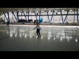 Elizaveta Tuktamysheva (RUS) - 3A-3T (In Practice)