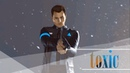 toxic   connor   detroit: become human