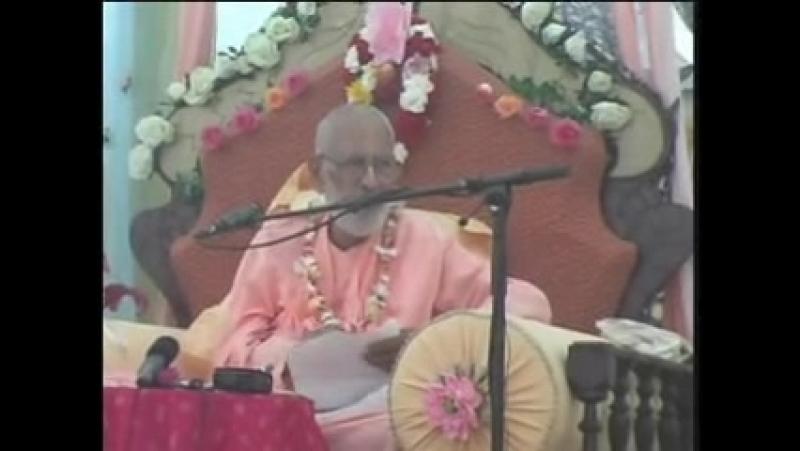 Narayana Maharaja blashemes Srila Prabhupada