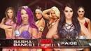LUCHA COMPLETA: Paige vs Sasha Banks | Raw Latino ᴴᴰ
