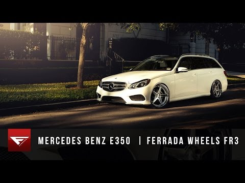 2015 Mercedes Benz E350 Station Wagon | Ferrada Wheels FR3