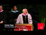 Jimmy Page, Geri Allen, Thara Memory, Valerie Simpson - 2014 Berklee Honorary Doctorates