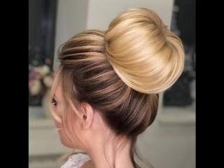 Быстрая и красивая причёска
