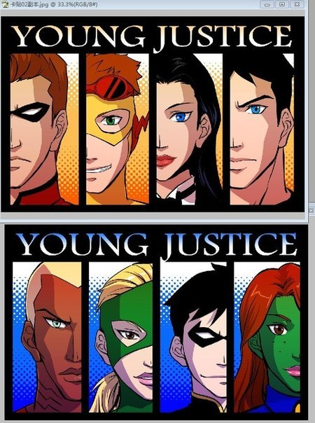смотреть юная лига справедливости онлайн: