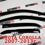 Дефлекторы окон(ветровики) Toyota Corolla 2007-2013г