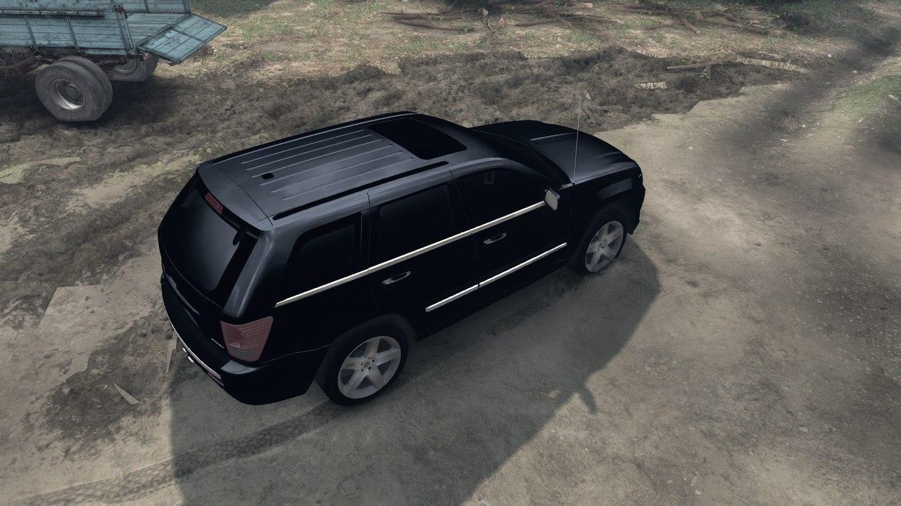 SRT8 в старом кузове 2009 для Spintires - Скриншот 3
