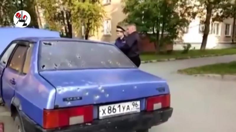 Спецназовец ГРУ расстрелял полицейского Real video